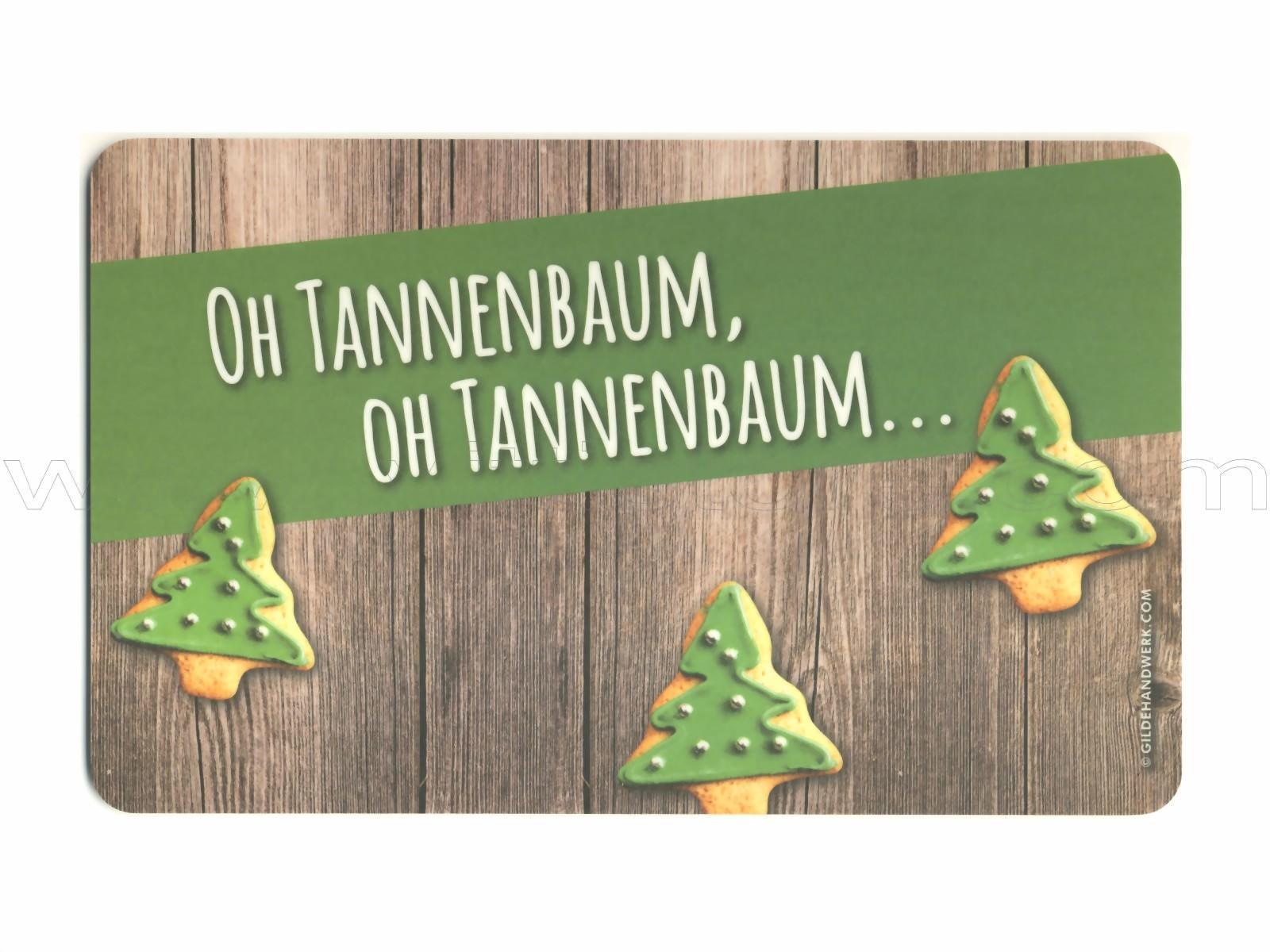 Bild Tannenbaum.Frühstücksbrettchen Oh Tannenbaum
